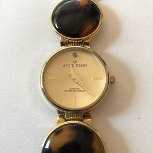 Anne Klein Tortoiseshell Women's Wrist Watch